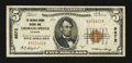 National Bank Notes:Colorado, Colorado Springs, CO - $5 1929 Ty. 1 The Colorado Springs NB Ch. #8572. ...