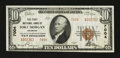 National Bank Notes:Colorado, Fort Morgan, CO - $10 1929 Ty. 2 The First NB Ch. # 7004. ...