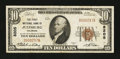 National Bank Notes:Colorado, Julesburg, CO - $10 1929 Ty. 1 The First NB Ch. # 8205. ...