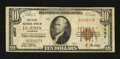 National Bank Notes:Colorado, La Junta, CO - $10 1929 Ty. 1 The First NB Ch. # 4507. ...