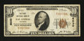 National Bank Notes:Colorado, Las Animas, CO - $10 1929 Ty. 1 The First NB Ch. # 6030. ...