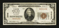 National Bank Notes:Colorado, South Pueblo, CO - $20 1929 Ty. 1 The Western NB Ch. # 2546. ...