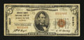 National Bank Notes:Colorado, Saguache, CO - $5 1929 Ty. 1 Saguache County NB Ch. # 9997. ...