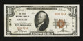National Bank Notes:Colorado, Greeley, CO - $10 1929 Ty. 1 The First NB Ch. # 3178. ...