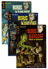 Boris Karloff Tales of Mystery File Copy Group (Gold Key, 1966-79) Condition: Average NM-.... (Total: 66 Comic Books)