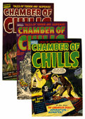 Golden Age (1938-1955):Horror, Chamber of Chills File Copy Group (Harvey, 1952-53).... (Total: 4Comic Books)