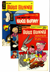 Bugs Bunny File Copy Short Box Group (Gold Key, 1956-80) Condition: Average NM-