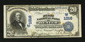 National Bank Notes:Colorado, Denver, CO - $20 1902 Date Back Fr. 642 The First NB Ch. # (W)1016. ...