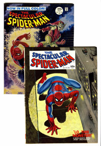 Spectacular Spider-Man #1 and 2 Group (Marvel, 1968).... (Total: 2 Comic Books)