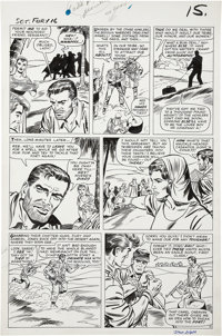 Dick Ayers and Frank Giacoia Sgt. Fury #16 page 12 Original Art (Marvel, 1965)