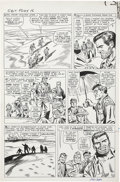 Original Comic Art:Panel Pages, Dick Ayers and Frank Giacoia Sgt. Fury #16 page 10 Original Art (Marvel, 1965)....