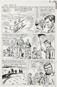 Dick Ayers and Frank Giacoia Sgt. Fury #16 page 10 Original Art (Marvel, 1965)