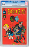 Silver Age (1956-1969):Humor, Richie Rich #69 File Copy (Harvey, 1968) CGC NM+ 9.6 White pages....