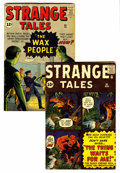 Silver Age (1956-1969):Superhero, Strange Tales #92 and 93 Group (Marvel, 1962).... (Total: 2 )