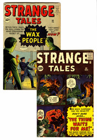 Strange Tales #92 and 93 Group (Marvel, 1962).... (Total: 2 )