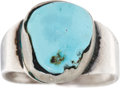 Political:Miscellaneous Political, John Nance Garner: His Turquoise Ring Engraved with His BirthDate....