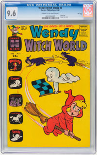 Wendy Witch World #5 File Copy (Harvey, 1963) CGC NM+ 9.6 Cream to off-white pages