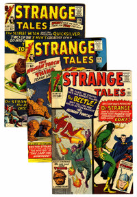 Strange Tales Group (Marvel, 1964-65) Condition: Average VF.... (Total: 10 Comic Books)