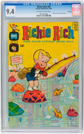 Silver Age (1956-1969):Cartoon Character, Richie Rich #80 File Copy (Harvey, 1969) CGC NM 9.4 Off-white to white pages....