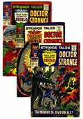 Silver Age (1956-1969):Superhero, Strange Tales Group (Marvel, 1966-68) Condition: Average VF.... (Total: 16 Comic Books)