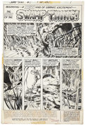 Original Comic Art:Panel Pages, Bernie Wrightson Swamp Thing #1 Title Page 1 Original Art(DC, 1972).... (Total: 2 Items)