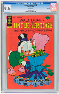 Uncle Scrooge #132 File Copy (Gold Key, 1976) CGC NM+ 9.6 White pages