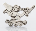 Estate Jewelry:Brooches - Pins, A MEXICAN SILVER PIN. William Spratling, Taxco, Mexico, circa 1945. Marks: SPRATLING MADE IN MEXICO (circling) WS, SPR...