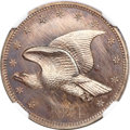 Patterns, 1854 P1C Flying Eagle Cent, Judd-164 Original, Pollock-189, R.5,PR66 Brown NGC....