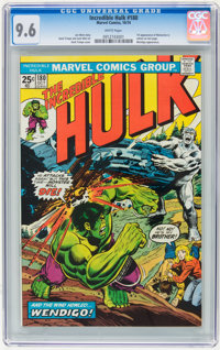 The Incredible Hulk #180 (Marvel, 1974) CGC NM+ 9.6 White pages