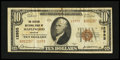 National Bank Notes:Missouri, Maplewood, MO - $10 1929 Ty. 2 The Citizens NB Ch. # 12955. ...
