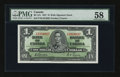 Canadian Currency: , BC-21c $1 1937.. ...
