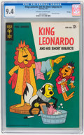 Silver Age (1956-1969):Cartoon Character, King Leonardo and His Short Subjects #4 File Copy (Gold Key, 1963) CGC NM 9.4 Off-white to white pages....
