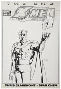 Original Comic Art:Covers, Gene Ha X-Men: The End Book 3: Men and X-Men #2 CoverOriginal Art (Marvel, 2006)....