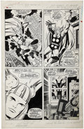 Original Comic Art:Panel Pages, Jack Kirby and Vince Colletta Thor #158 page 2 Original Art(Marvel, 1968)....