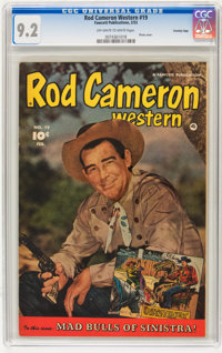 Rod Cameron Western #19 Crowley Copy pedigree (Fawcett, 1953) CGC NM- 9.2 Off-white to white pages