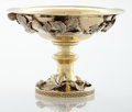 Silver & Vertu:Hollowware, AN AMERICAN SILVER GILT COMPOTE. Edward C. Moore, New York, New York, circa 1856. Marks: TIFFANY & CO. GOLD & SILVERSMITHS...