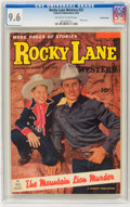 Golden Age (1938-1955):Western, Rocky Lane Western #52 Crowley Copy pedigree (Fawcett, 1953) CGC NM+ 9.6 Off-white to white pages....