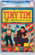 Golden Age (1938-1955):Humor, Four Color (Series One) #20 Tiny Tim (Dell, 1941) CGC VF 8.0 Cream to off-white pages....