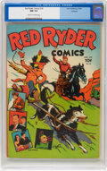Golden Age (1938-1955):Western, Red Ryder Comics #18 Rockford pedigree (Dell, 1944) CGC NM 9.4 Cream to off-white pages....