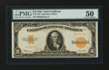 Large Size:Gold Certificates, Fr. 1173a $10 1922 Gold Certificate PMG About Uncirculated 50....