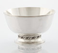 Silver Holloware, American:Bowls, AN AMERICAN SILVER FOOTED BOWL. Alphonse La Paglia for International Silver, Meriden, Connecticut, circa 1952. Marks: La P...