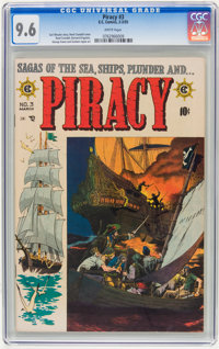Piracy #3 (EC, 1955) CGC NM+ 9.6 White pages