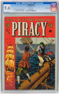 Piracy #4 Gaines File pedigree 9/12 (EC, 1955) CGC NM 9.6 White pages