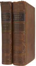 Books:First Editions, John Russell Bartlett. Personal Narrative of Explorations andIncidents in Texas, New Mexico, California, Sonora and Chi...(Total: 2 Items)