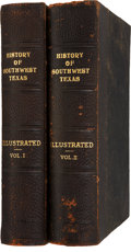 Books, A Twentieth Century History of Southwest Texas. Chicago: TheLewis Publishing Company, 1907.... (Total: 2 Items)