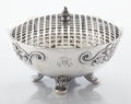 Silver Holloware, American:Center Pieces, AN AMERICAN SILVER CENTER BOWL WITH FROG. Whiting Manufacturing Company, New York, New York, circa 1915. Marks: (griffin wit... (Total: 2 Items)