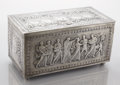 Silver Holloware, American:Boxes, AN AMERICAN SILVER PRESENTATION DOCUMENT BOX. Designed by Evelyn Beatrice Longman, Manufactured by Gorham Manufacturing Co.,...