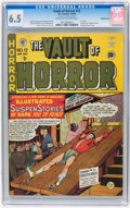 Golden Age (1938-1955):Horror, Vault of Horror #12 Double Cover (EC, 1950) CGC FN+ 6.5 Off-whiteto white pages....