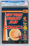 Golden Age (1938-1955):Superhero, New York World's Fair Comics 1939 Mile High pedigree (DC, 1939) CGC FN- 5.5 White pages....
