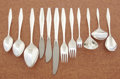 Silver Flatware, American:Reed & Barton, AN AMERICAN SILVER FLATWARE SERVICE. Reed & Barton, Taunton,Massachusetts, circa 1958. Marks: Reed & Barton,STERLING. ... (Total: 85 Items)